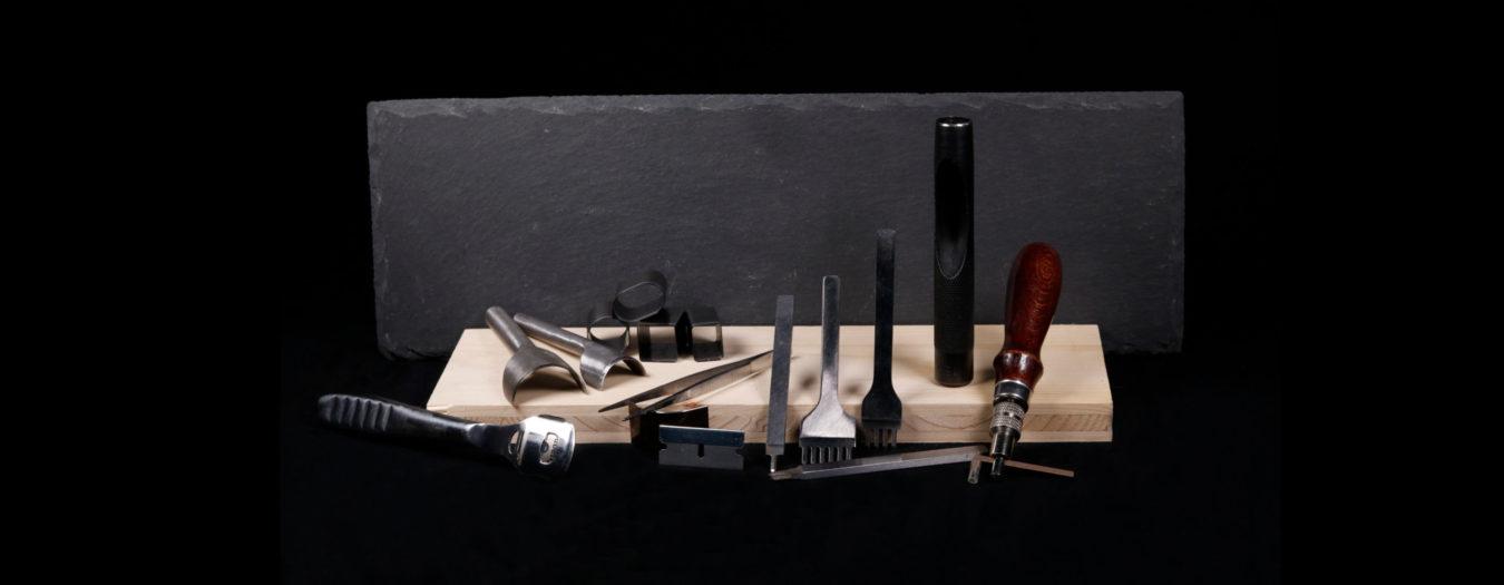 Leder Werkzeug